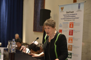 Helen Clark Speech at the Implementing 2030 Agenda for Sustainable Development : From Global Commitment to Local Action; High-level Side Event at the 71st UN General Assembly